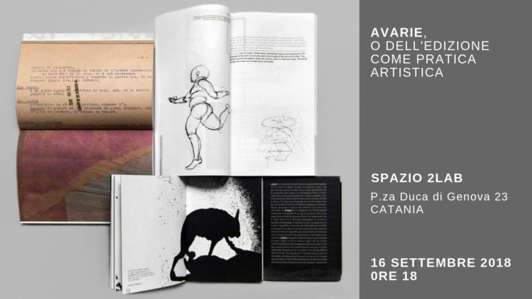 Avarie, or the independent publishing as an artistic practice